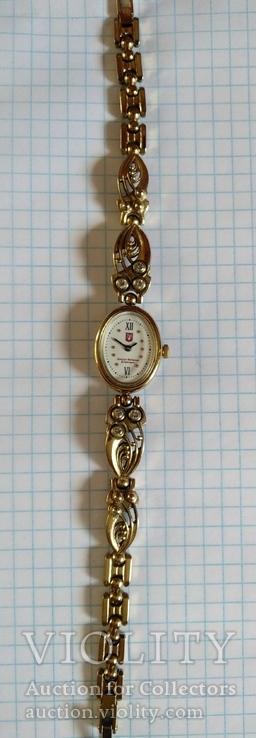 Часы механические женские от депутата киевсовета с дарственной подписью, фото №2