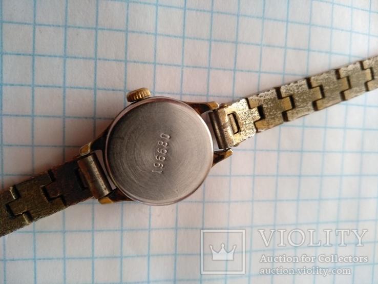 Часы механические чайка производство ссср, фото №4