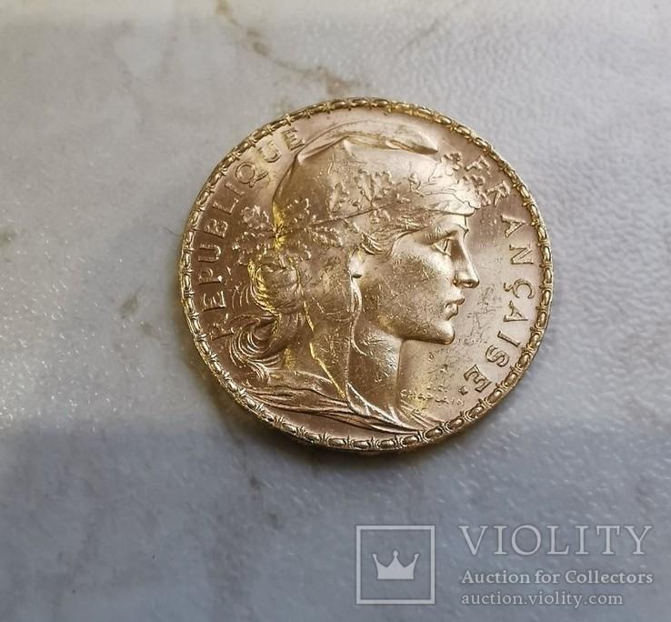 20 франков 1908, фото №2
