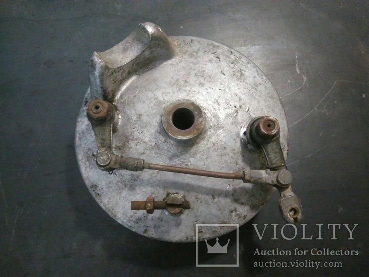 Передний тормозной барабан (опорник) с колодками Днепр МТ Урал (4), фото №2