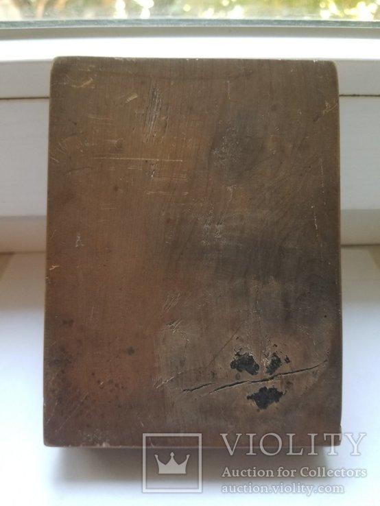 Серебряная икона Николая 1779 года, фото №9