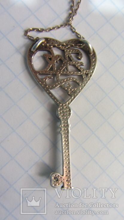 Кулон. Ключик., фото №6