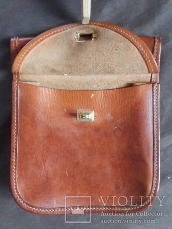 Старая кожаная сумка, фото №6