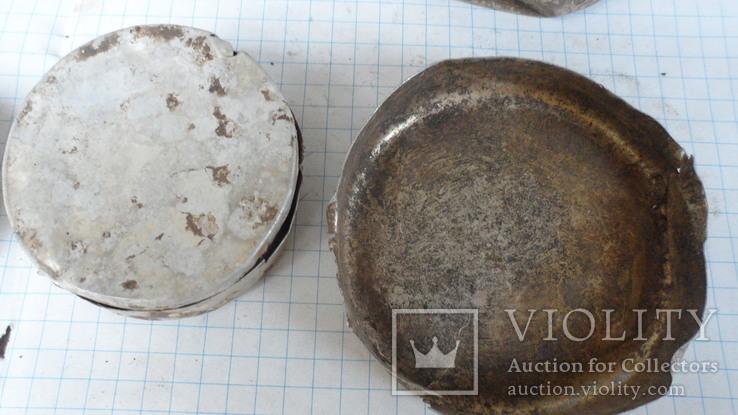 Коробочки от кремов с немецких позиций, фото №6