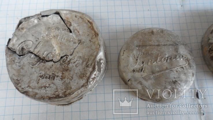 Коробочки от кремов с немецких позиций, фото №9