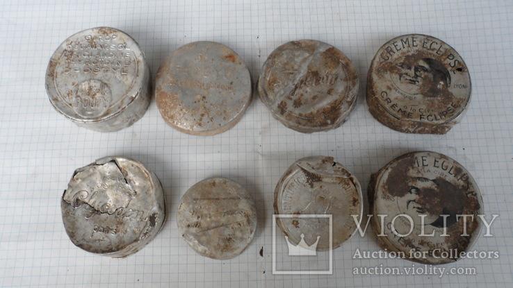 Коробочки от кремов с немецких позиций, фото №2