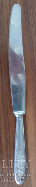 Нож рукоять клеймо завод им. Кирова г. Павлово, фото №2