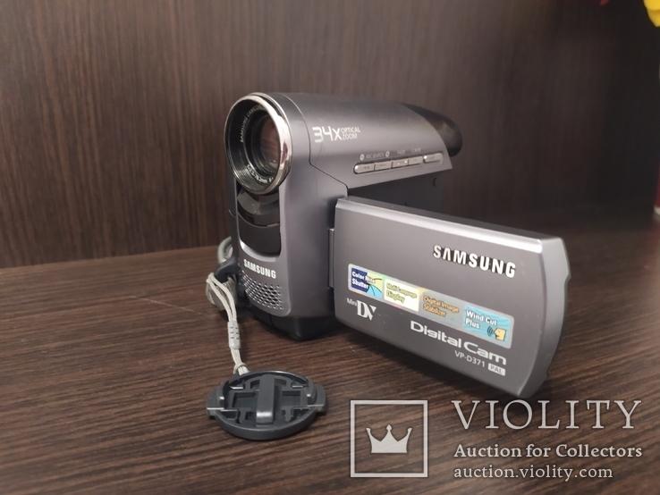 Видеокамера рабочая Самсунг, фото №2