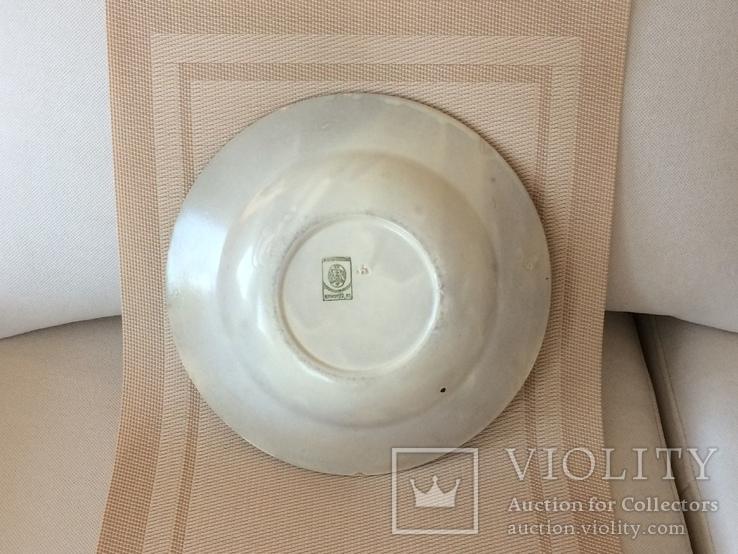Агитационная тарелка ,, всенарпит '' - 20 х годов, фото №5