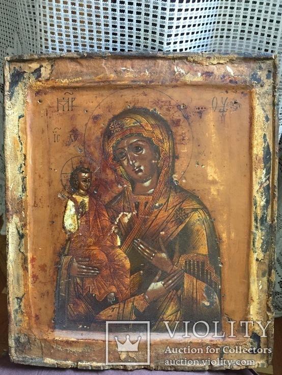 Божья Матерь Троеручица, фото №5