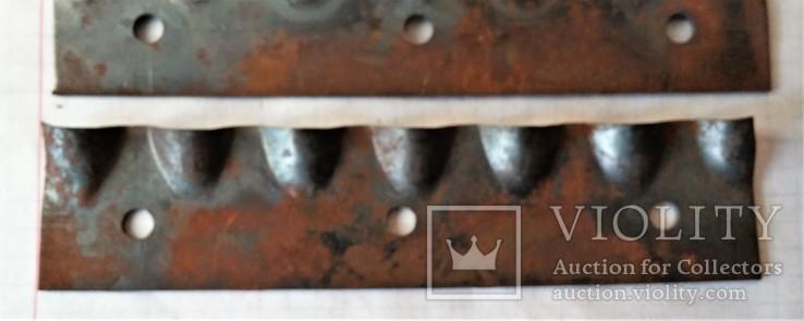 Ножи новые калёные для корморезки, из СССР, 19 штук., фото №4