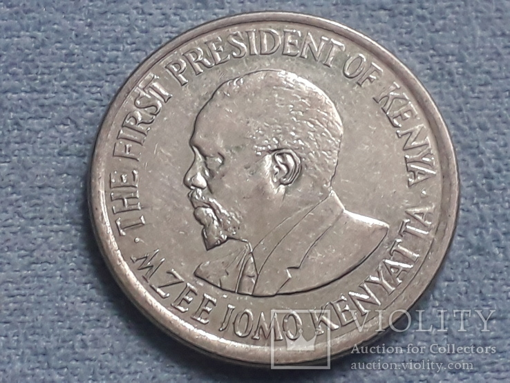 Кения 1 шиллинг 2010 года, фото №3