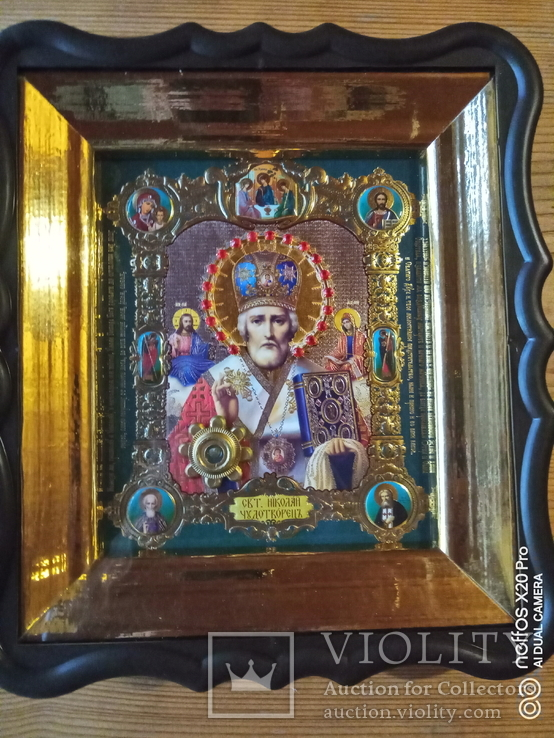 "Ікона ""святий Миколай"", фото №2"