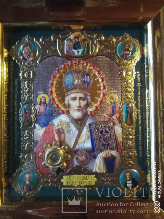 "Ікона ""святий Миколай"", фото №4"