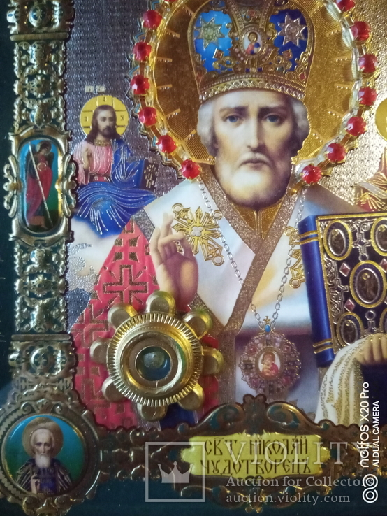 "Ікона ""святий Миколай"", фото №6"
