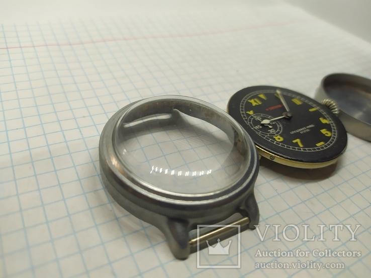 Часы механические фантазийные Смерш. 15 камней. 2-1 час з-д, фото №6