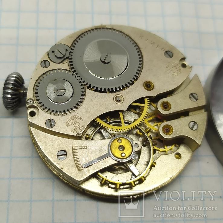 Часы механические фантазийные Смерш. 15 камней. 2-1 час з-д, фото №7