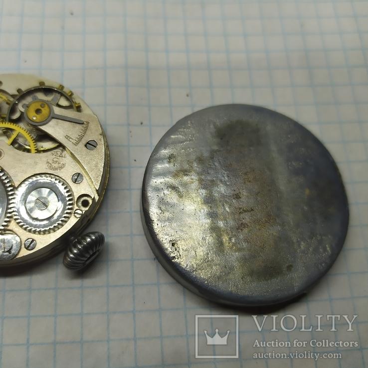 Часы механические фантазийные Смерш. 15 камней. 2-1 час з-д, фото №9