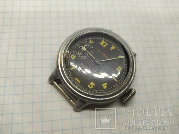 Часы механические фантазийные Смерш. 15 камней. 2-1 час з-д, фото №10