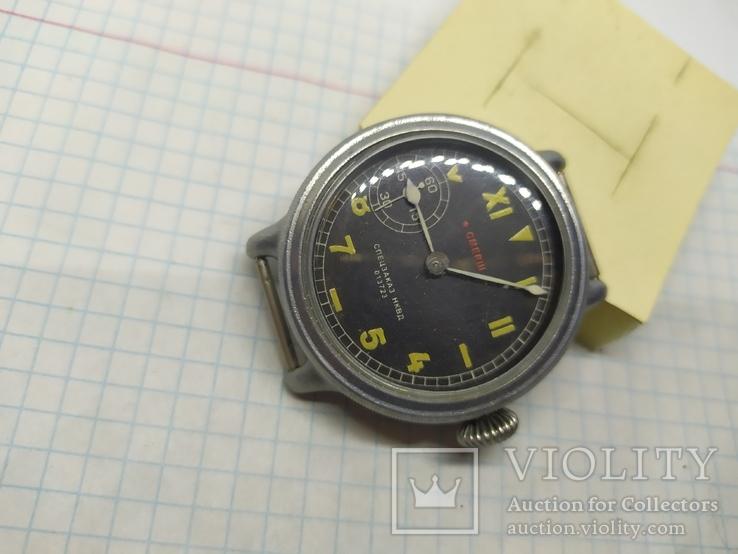 Часы механические фантазийные Смерш. 15 камней. 2-1 час з-д, фото №12