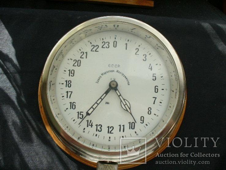 Часы корабельные вахтовые, фото №2