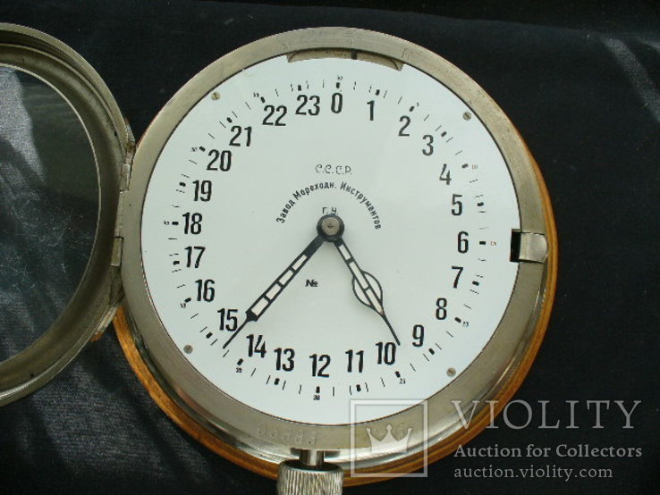 Часы корабельные вахтовые, фото №3