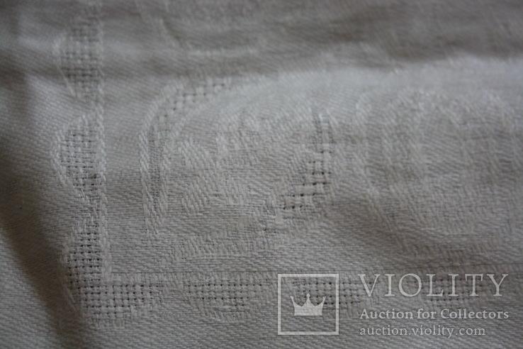 Старая скатерть мережкой 175х150, фото №6