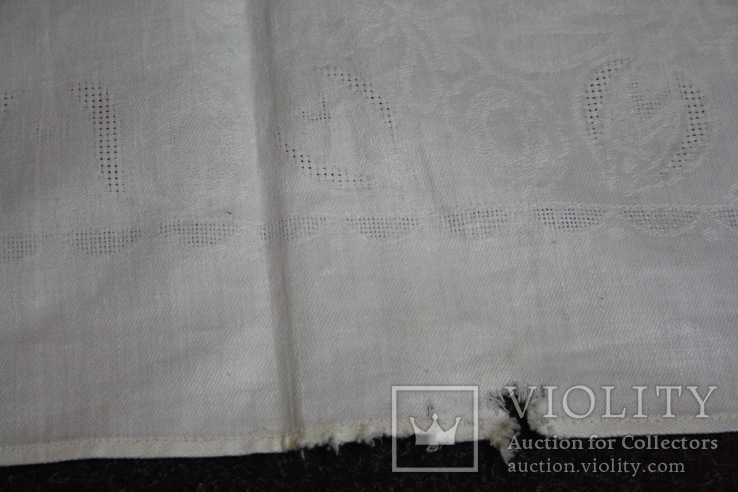 Старая скатерть мережкой 175х150, фото №11