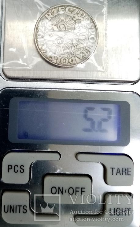 50 грош 1923г* Польша, фото №5