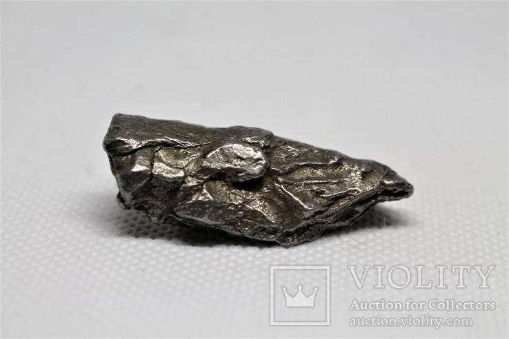 Залізний метеорит Campo del Cielo, 28,5 грам, із сертифікатом автентичності, фото №2