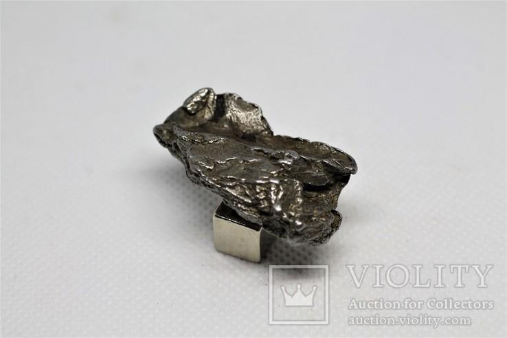 Залізний метеорит Campo del Cielo, 28,5 грам, із сертифікатом автентичності, фото №6