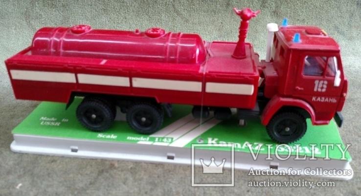 КамАЗ 53212 пожарный, фото №3