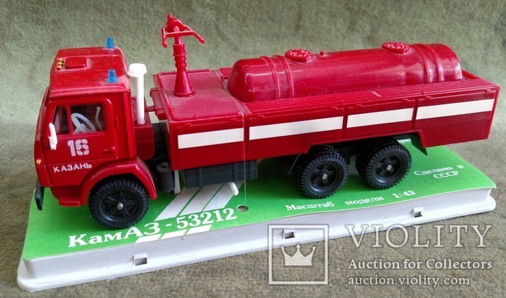 КамАЗ 53212 пожарный, фото №4