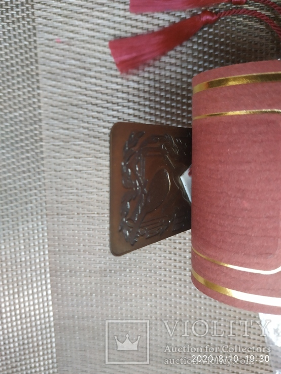Латунная закладка в книгу, фото №4