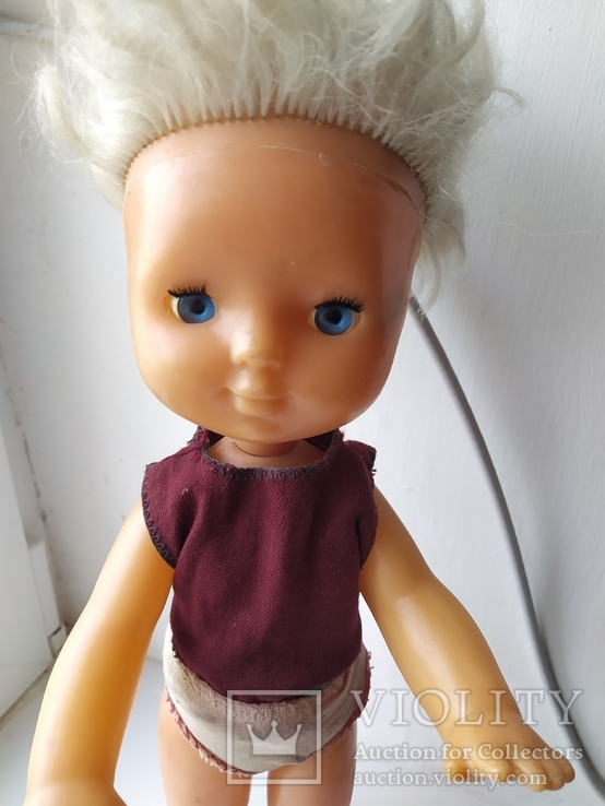Кукла с голубыми глазами (клеймо), фото №9