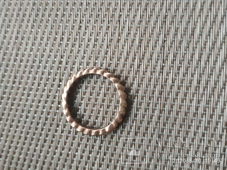 Кольцо в виде цепочки медное, фото №4