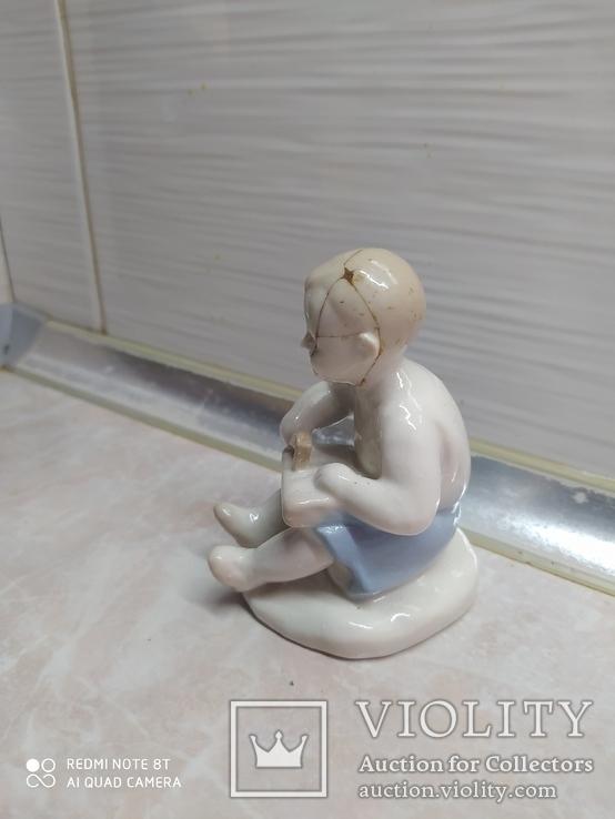 Статуэтка Мальчик с молотком, фото №4