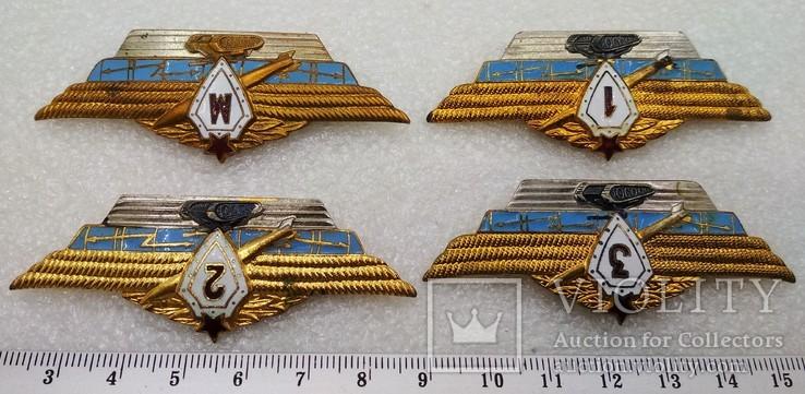 Офицерская классность Мастер, 1, 2, 3 Армейские Знаки СССР, фото №4