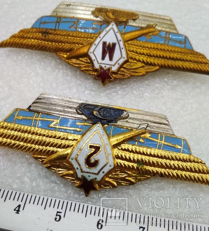 Офицерская классность Мастер, 1, 2, 3 Армейские Знаки СССР, фото №5