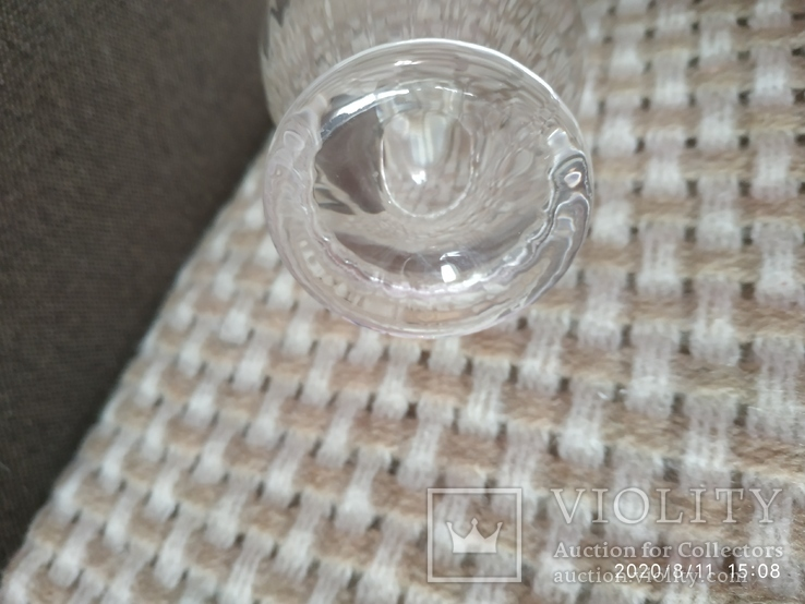 Миниатюрная вазочка хрусталь, фото №6