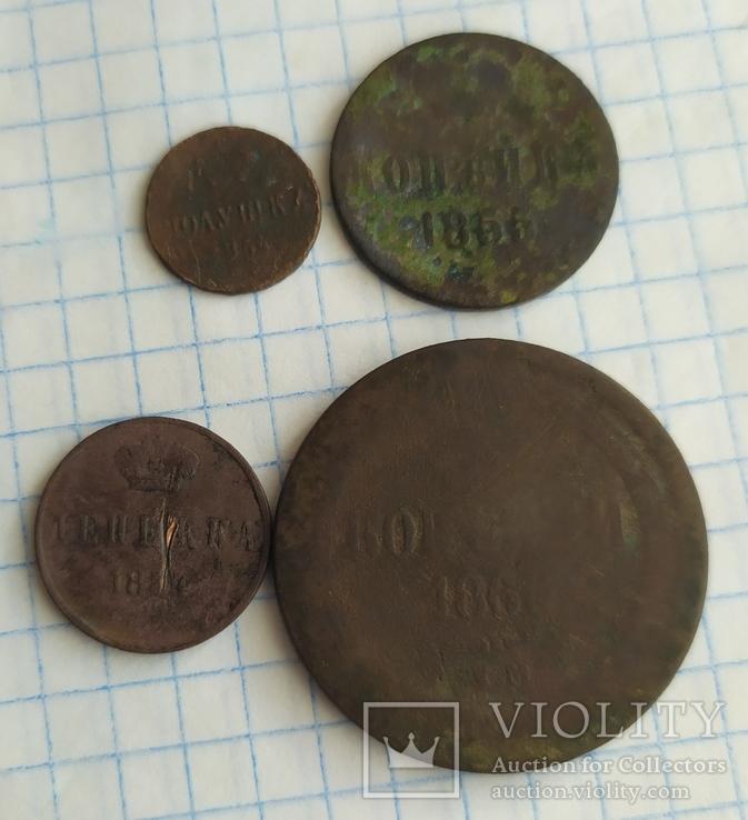Лот монет 4шт., фото №2