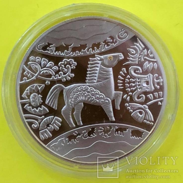 Україна 5 гривень, 2014 Східний календар - Рік Коня, фото №2
