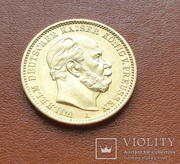 Золото 20 марок 1873 г. Пруссия
