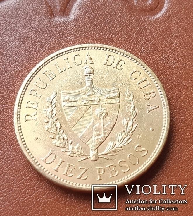 10 песо 1916 г Республика Куба Хосе Марти, фото №6