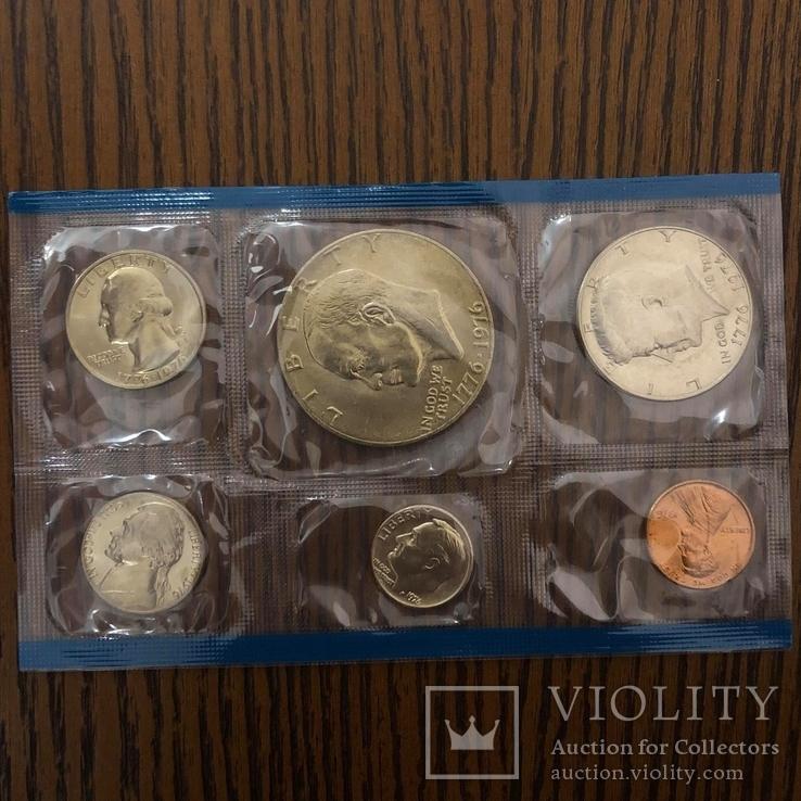Набір  монет США за 1976р., фото №2