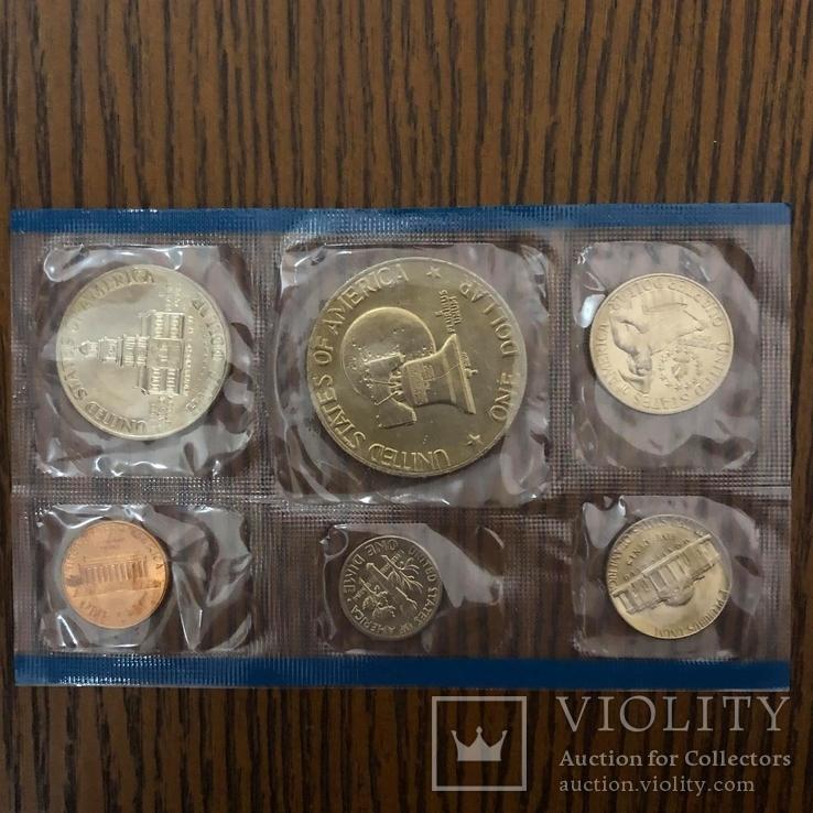 Набір  монет США за 1976р., фото №3