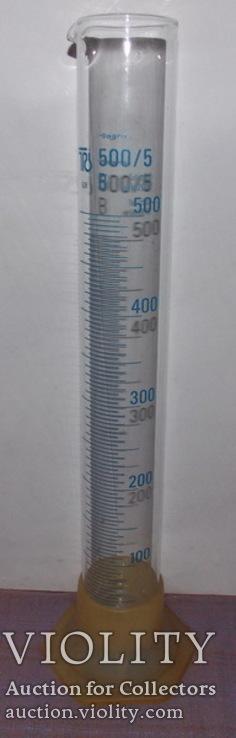 Мерная мензурка на 500 мл, ГДР, фото №2