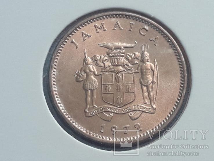 Ямайка 1 цент 1972 года ФАО - Давайте производить больше еды, фото №2