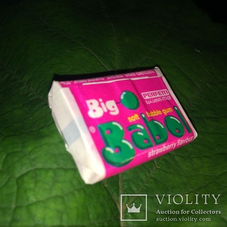 №4 Жевательна резинка Tyrkey Bubble gum 80-90 детство СССР - Big Babol (розовая) Perfetti, фото №2
