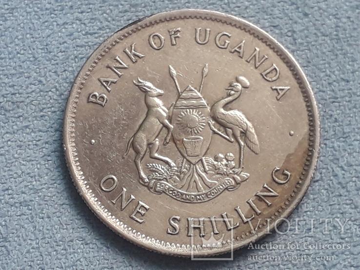 Уганда 1 шиллинг 1976 года, фото №3